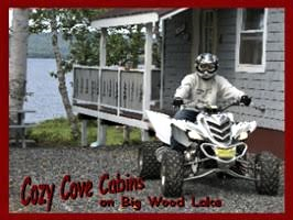 Cozy Cove Cabins - Live WEBCAM