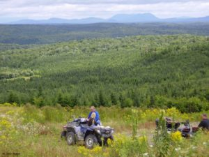 ATV Riding in Jackman